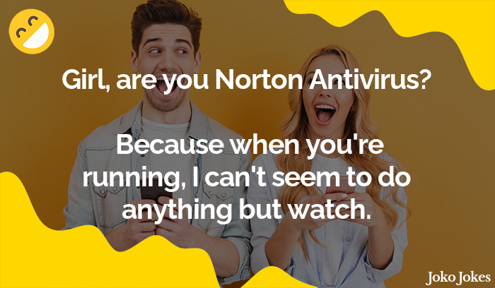 Antivirus joke, Managed to sell a toaster with Norton Antivirus today