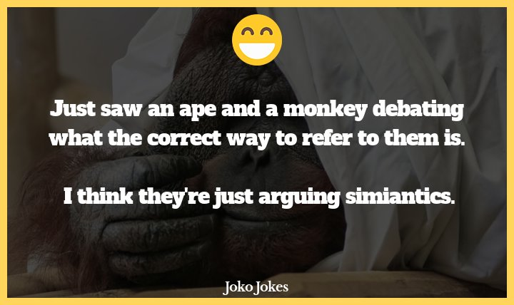Apes joke, Why I'm bothered by racists as an American citizen
