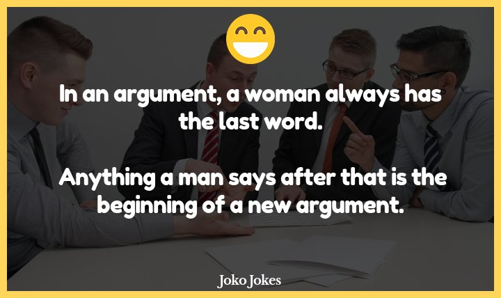 Arguments joke, Why do mimes always lose arguments?