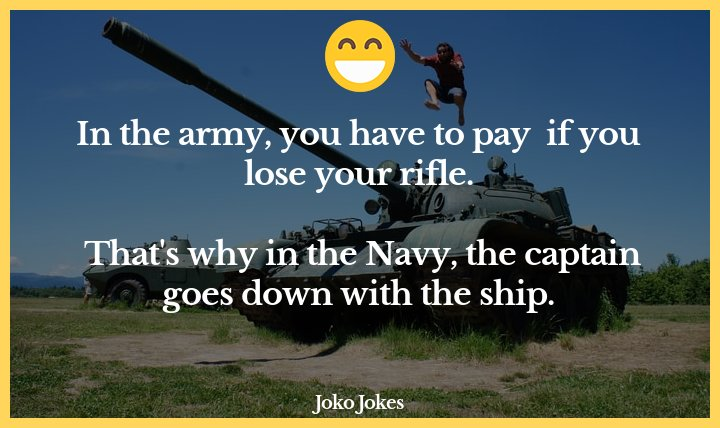 Army joke, The captain and the prostitute