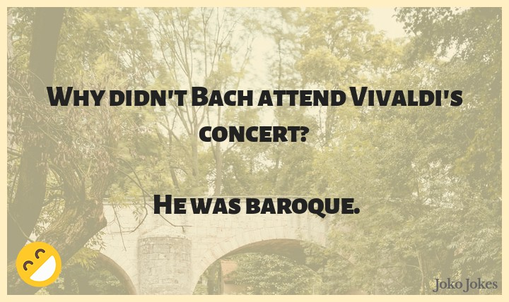 Bach joke, Why are bachelors thin, and married men fat?