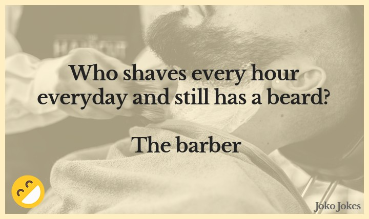 Barber joke,   What did the disgruntled barber give to the prince?