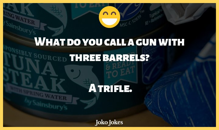 Barrel joke, So a pirate has been on a ship for 6 months...