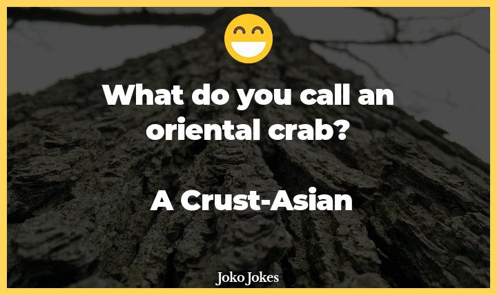 Crust joke, Where did the crab work inside her new job at the pizza factory?