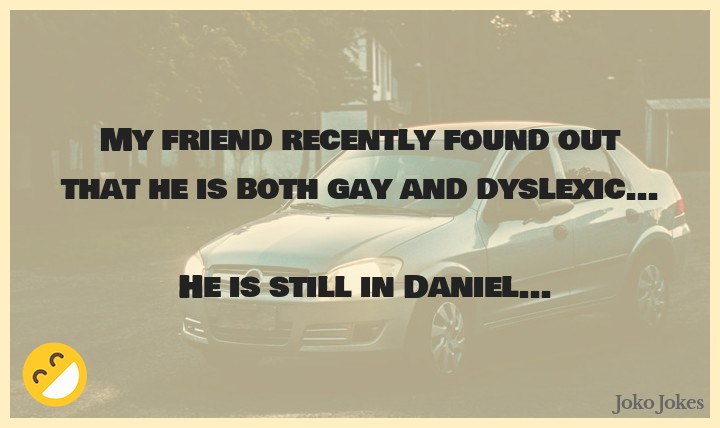 Daniel joke, Who is the hardest person to find in hide and seek?