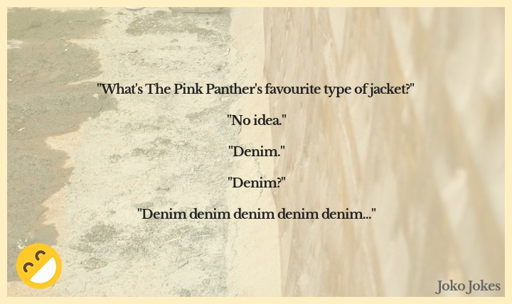 Denim joke, Did you hear the one about the shark that liked to eat people wearing jeans?