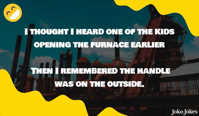 Furnace joke, What is Donald Trump's favorite word salad?