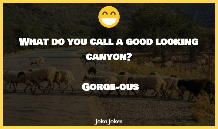 Gorge joke, A gorgeous blonde is stranded on an island...
