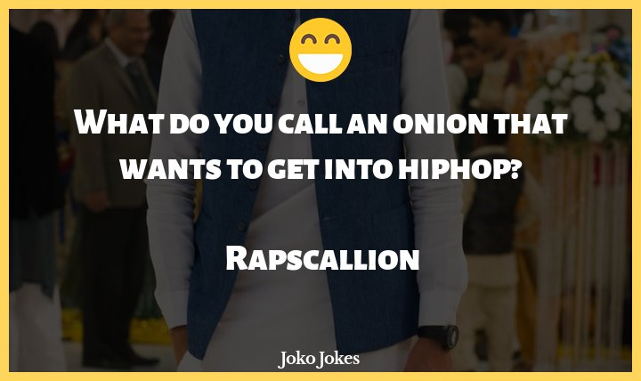Hiphop joke, What do you call an onion that wants to get into hiphop?