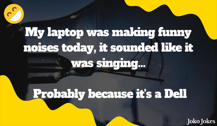 Laptop joke, I was at a job interview today when the manager handed me his laptop and said