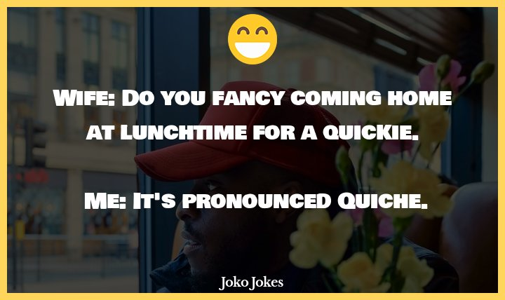 Lunchtime joke, Almost every McDonalds