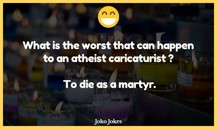 8+ Martyr Jokes That Will Make You Laugh Out Loud