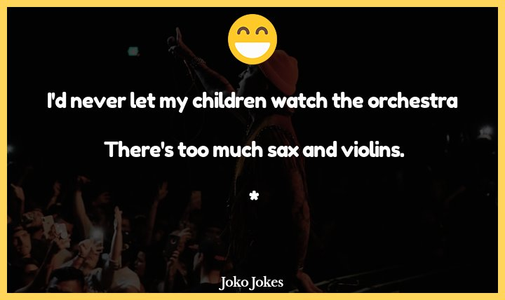 "Orchestra joke, After an orchestra drummer performed particularly poorly, the conductor sarcastically told him, ""whe"