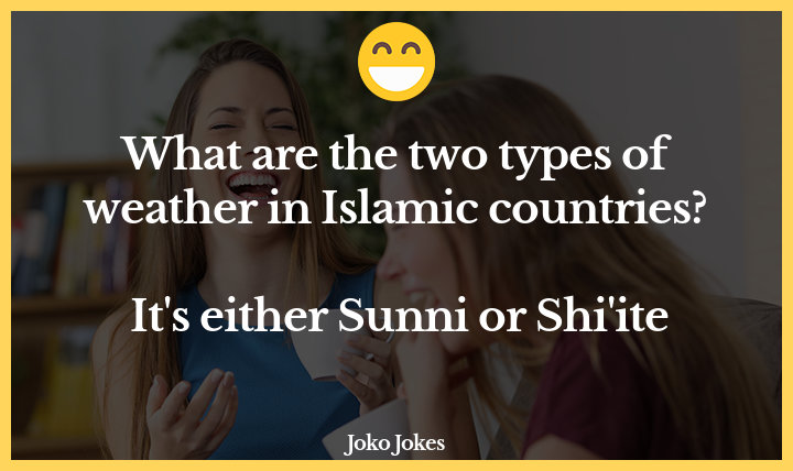 Sunni joke, What did the recent Sunni convert says about ISIS?