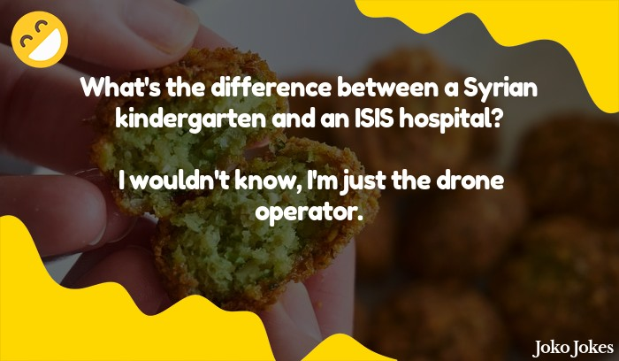 Syrian joke, What do you call a Syrian who tries to scam you out of a pot of gold?