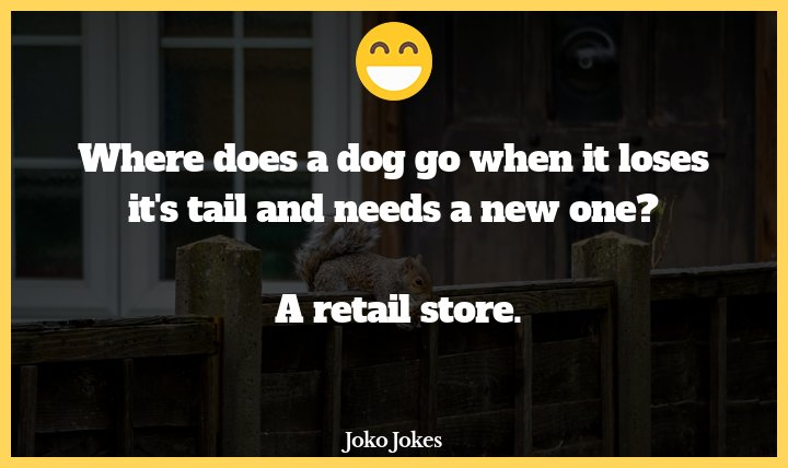 Tail joke, What did the tailor say after a job well done?