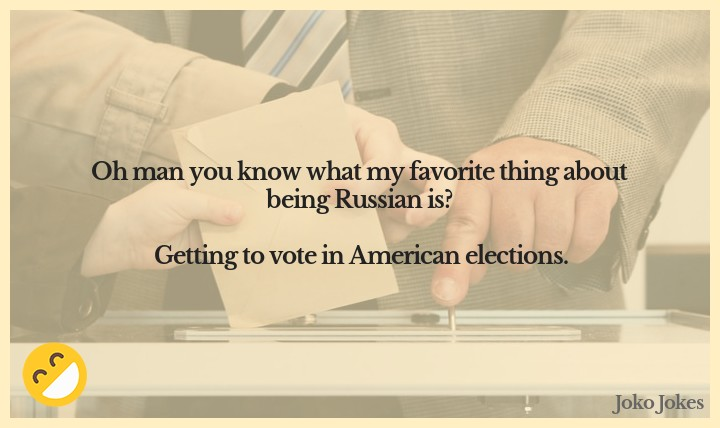 Voting joke, Just a quick note to my American cousins. Voting is like driving a car....