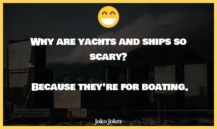 Yacht joke, What did the penis-shaped potato name his yacht?
